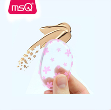 MSQ Clear silicon makeup brush puff cosmetic makeup applicator silicone sponge