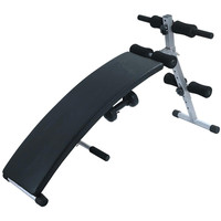 AB Exercise Curved Adjustable Portable Folding Sit-Up Bench