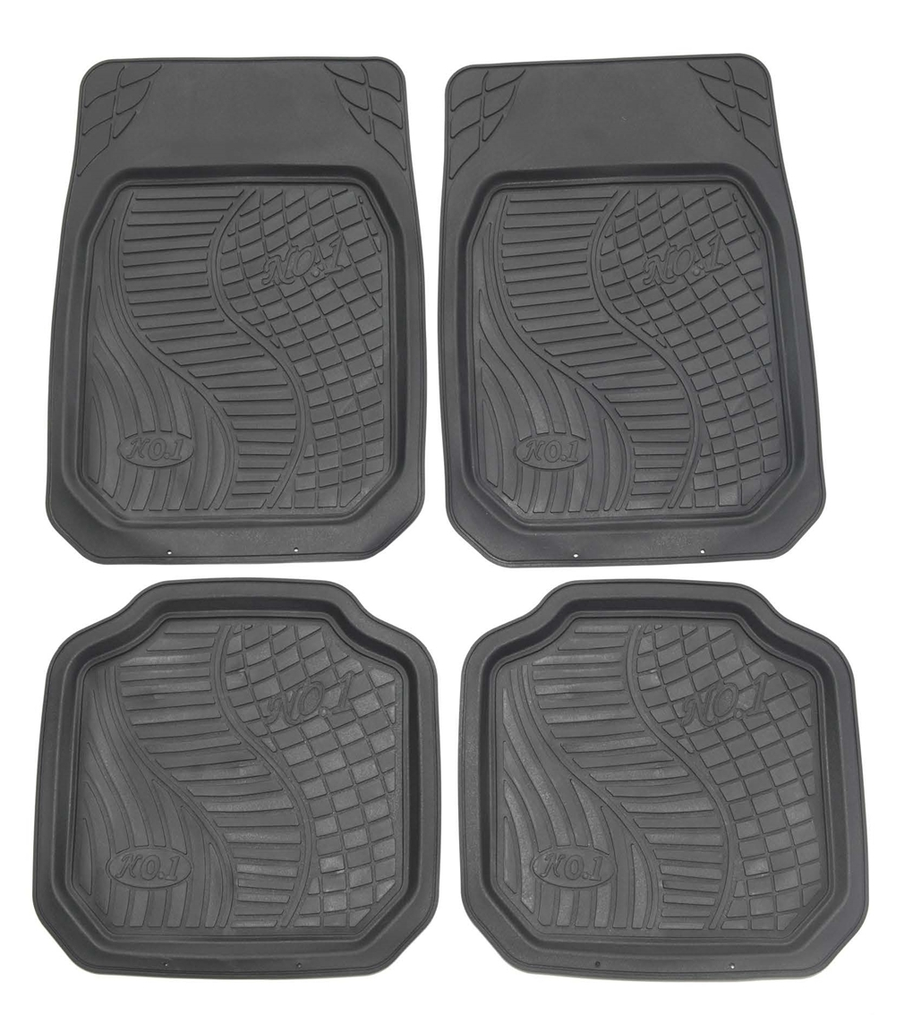 Best sale universal classic type car floor rubber mat waterproof for interor car