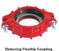 Ductile Iron Grooved Fittings Light Duty Reducing Coupling