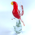 clear crystal bird glass art figurines sculpture