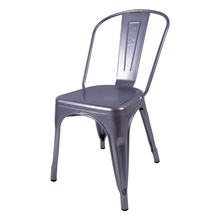 Cheap price stackable morden style metal restaurant chair