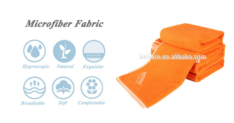 China wholesale best selling cheap mircro-fiber solid color non slip yoga towel