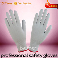 Competitive price Best Choice safety knitted cotton work gloves en388