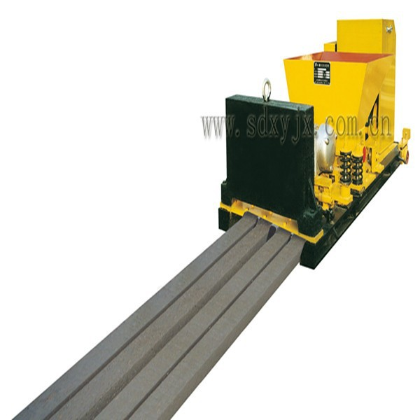Precast prestressed concrete products extruding machine