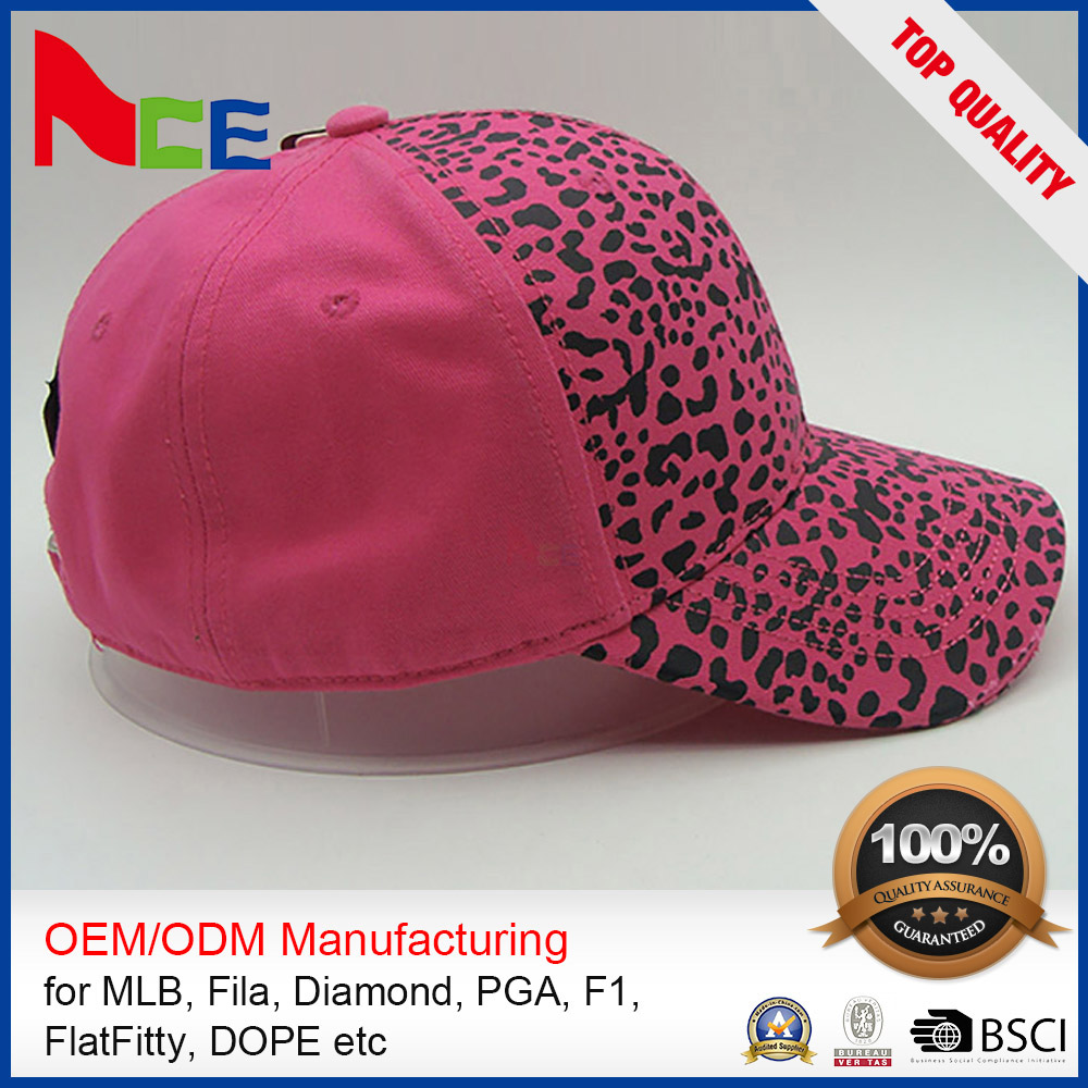 Decorative Custom Made Hip Hop Hat Sample Free Baseball Cap