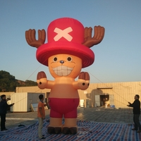 popular cartoon inflatable replica characters cartoon for advertising