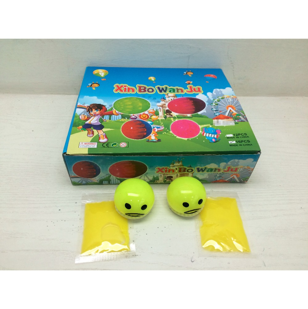 Wholesale Non-toxic Vent Toys Lazy Ball Egg vomiting Yolk Galaxy Putty Slime Toy
