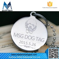 Cheap Aluminum Stainless Steel Blank Zinc Alloy Bone Shaped Dog TagsPT08