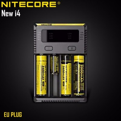 Nitecore I4 2016 Intellicharger Smart Universal Quad Battery Charger 4 slot nitecore new i4 12v for 18650 li-ion battery