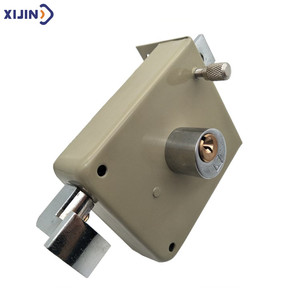 Wholesale security sliding door key lock for dormitory