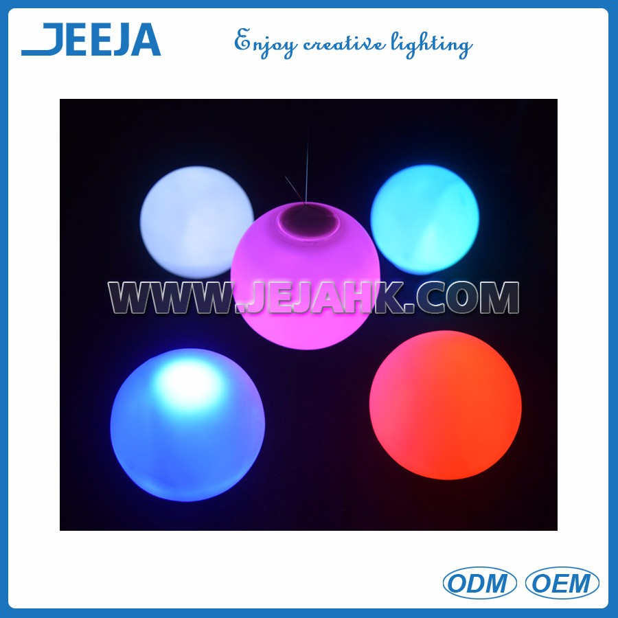 Waterproof Floating Christmas Decorative LED Mood Light Ball