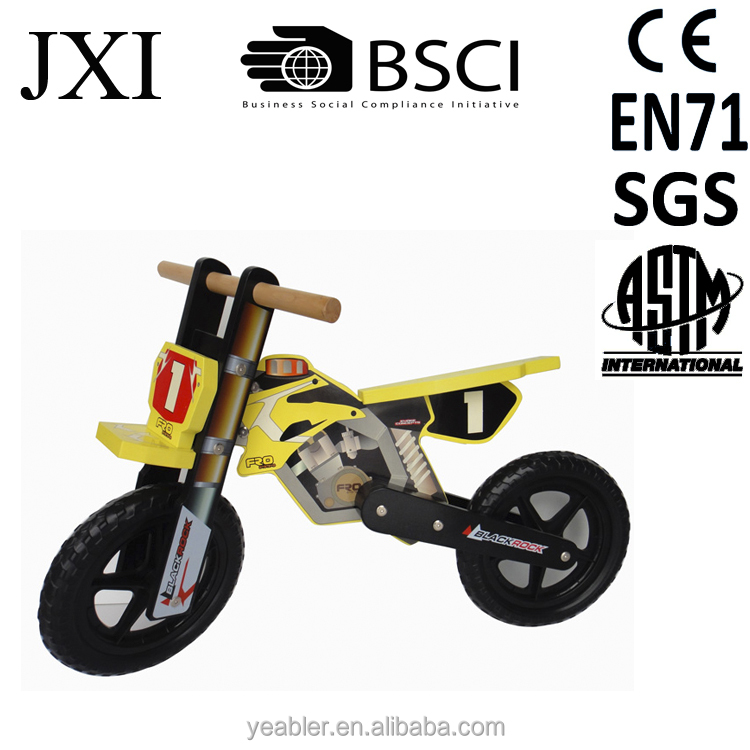 Portable electric super pocket repsol balance bike for 3 to 6 years old kids