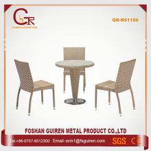 New Recommended Beautiful dining room set synthetic rattan patio furniture