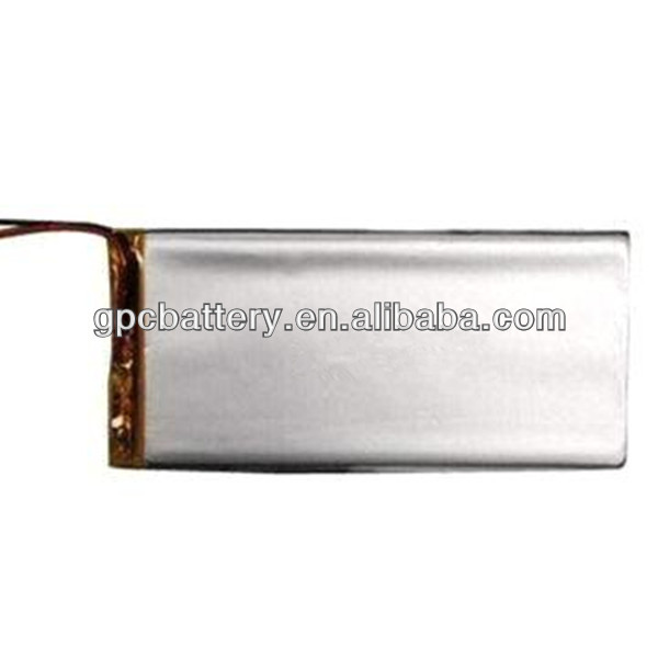 2600mAh 3.7V Lithium-polymer Battery Pack with PCM/Wire and Connector