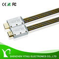 Premium Flat1.4v HDMI Cable 2160p High Speed Lead For HDTV SKY XBOX 360 PS4 4K