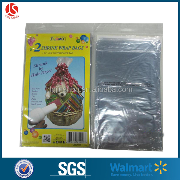 Ldpe Christmas Party Jumbo Bike/bicycle Sack Plastic Wrapping Gift Bag