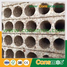 28mm 33mm 34mm Hollow Core Tubular Chipboard / Particle Board For Door