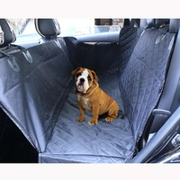 waterproof pet car truck back seat cover for dogs hammock protector