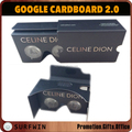 2017 Custom logo cardboard VR goggles 3d google cardboard vr for smart phone