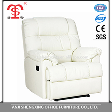 SX-8677 leather sofa/mordern style recliner/manual mechanism sofa