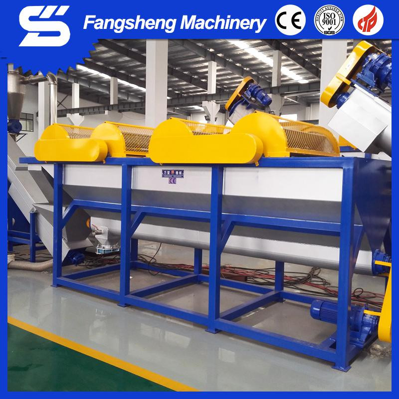 Waste plastic washing recycle Machine pp pe film washing recycling production line