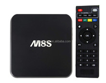 The Hottest Selling Android Tv Box Malaysia M8S Amlogic S812 2G 8G 4K Android 4.4 Andriod Smart Tv Box