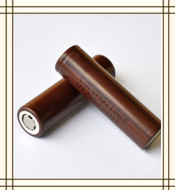 Chocolate LG battery 18650 3000mah 3.7V rechargeable battery
