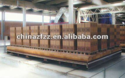 Delivery Wet Brick Kiln Car with Factory Price