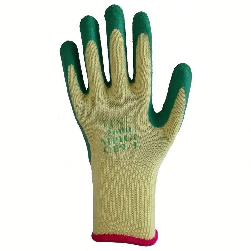 Nature Latex Assembling Coated Safety Working Hand Gloves