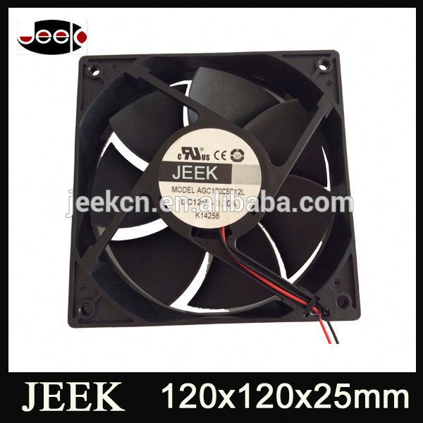 120X120mm 2500Rpm Electric Motor Cooling Fan Blade