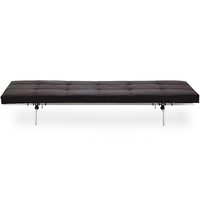 PK80 modern leather daybed bench