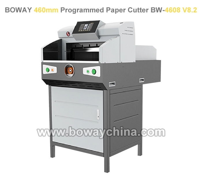 National Standard Drafter CE ISO Boway 490mm Electric Guillotine Paper Cutter