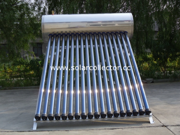 Domestic Solar Energy Water Heater for Frost Region