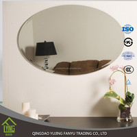 3-6mm frameless mirrors, bathroom mirrors ,hotel mirrors bath mirror