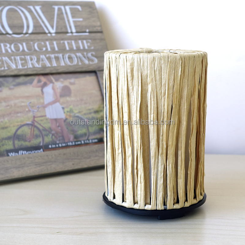 Aroma Essential Oil Diffuser Usb Electric Perfume Diffuser With Natural Raffia