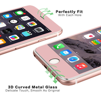 Hot sale extra strong aluminum frame 3d curved screen protectors