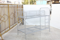 Metal Bunk Bed steel metal frame double bunk bed in hot sale for school