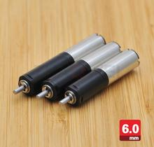 Micro 3V dc gear motor with gearbox 6mm diameter,28mm length brushless motor