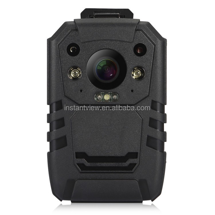 1296P 32GB Storage long time recording IR Night Vision Police Cam with 4G Wifi GPS