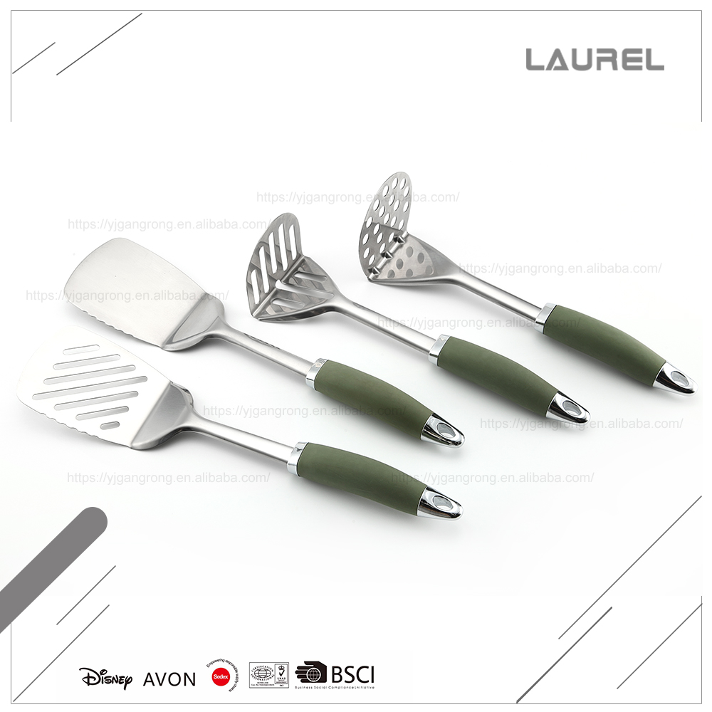 Cheapest prcie stainless steel small kitchen utensils