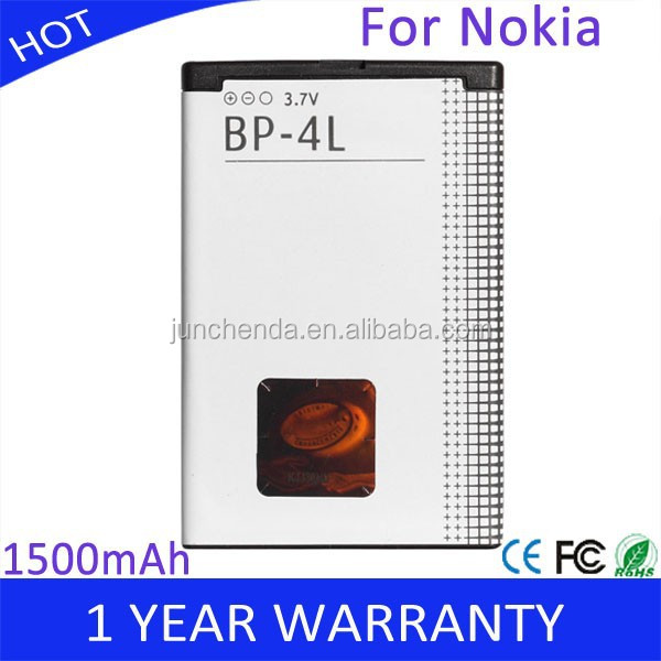 BP-4L Mobile Phone Battery Replacement for Nokia E52 E55 E63 E71 E72 E73 E90 N810 N97 1500mAh High Quality