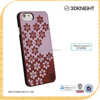 China Dongguan Wholesale Free Samples Promotion Slim Armor Mobile Phone Wood Bamboo Case For iPhone 6