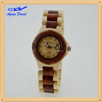 Customized hot selling peculiar wood watch