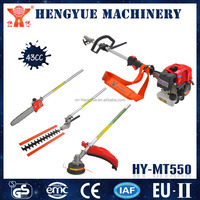 5 in 1multifunctional tools manual grass cutting machine with chain saw and nylon head