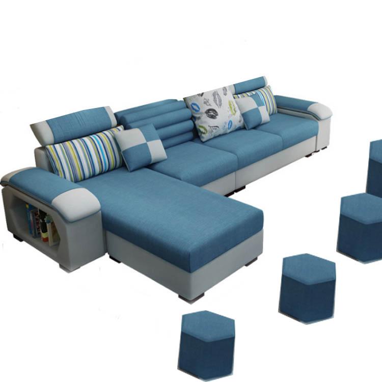 Modern Sofa L Shaped Small Space Sofa Design Bed Sofa Set - Buy Modern Sofa  Set,L Shaped Sofa Set,Bed Sofa Set Product on Alibaba.com