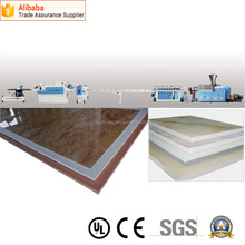 PVC WPC Foamed Plate Extrusion Line