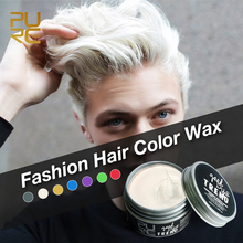 7 Colors Hair Color for Men Private Label Hair Styling Wax Disposable White Color Waterproof