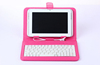 Leather Case With Keyboard For 7 inch Tablet PC