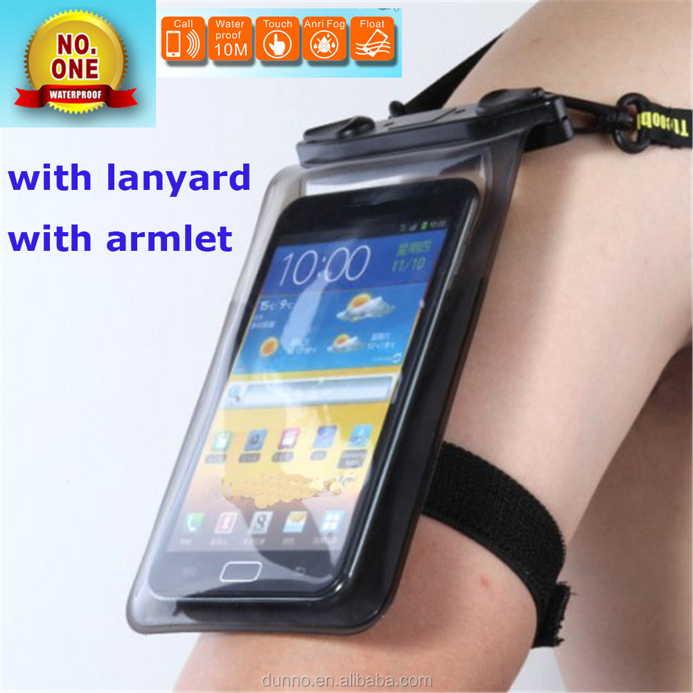 Waterproof Mobile Phone Cases Cover Can Dive into 5m Water waterproof case for samsung galaxy cell Phone Cover